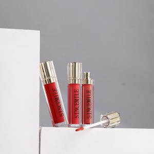 Wholesale Private Label Lip gloss base vegan plumper lip lipgloss Glitter nude Lip gloss cosmetics bulk high pigment lipstick