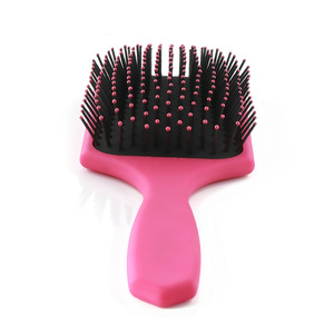 Xinlinda brand manufacture cushion massage wholesale soft touch hair brush plastic