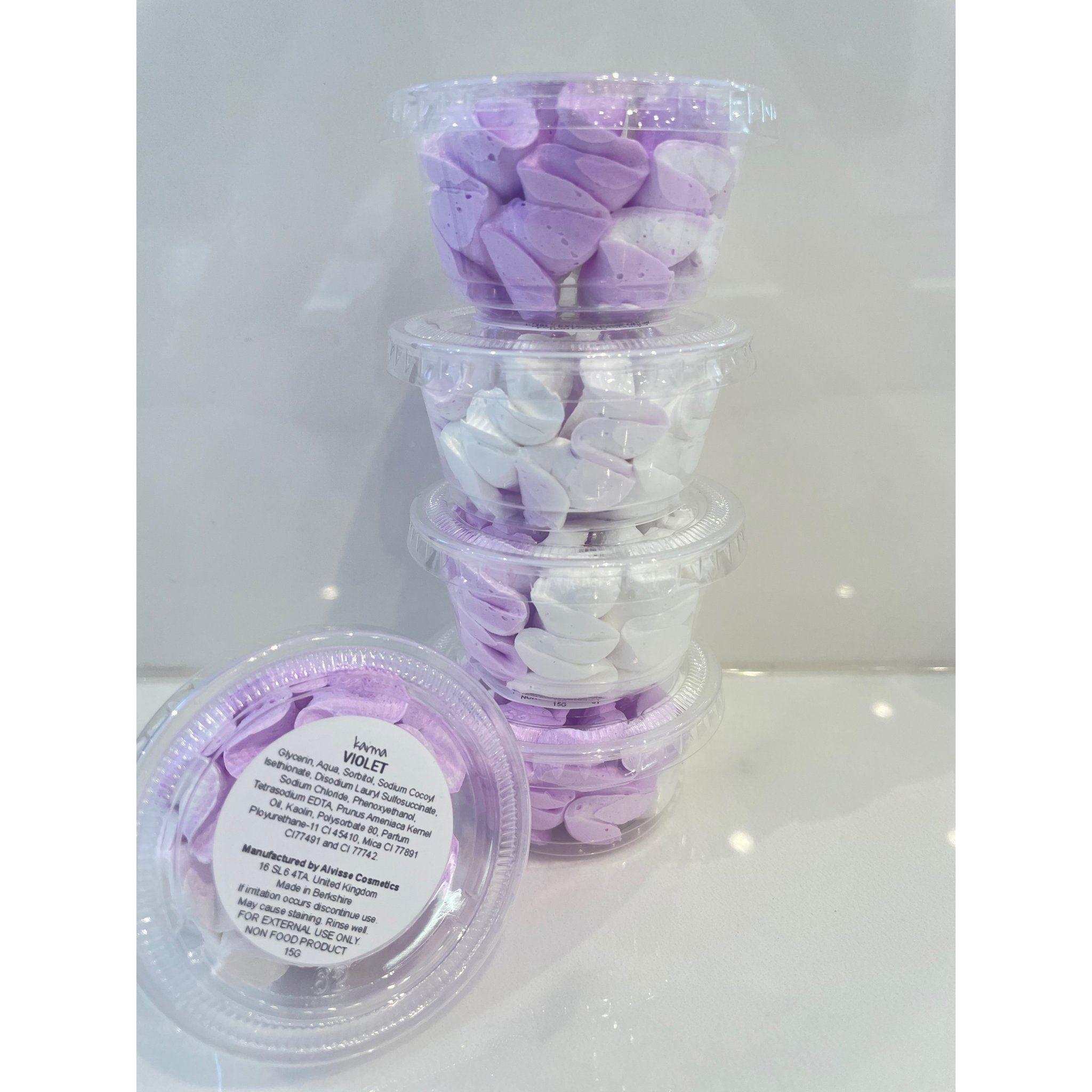Karma Violet Whip Soap Tower Set