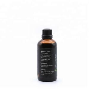 100% pure and natural essential oil aloe vera oil cosmetics