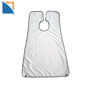 Beard Catcher Apron for Grooming Clipping Trimming Black Shaving Cape with Suction Cups beard apron bib