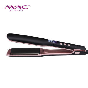 Customize flat iron with titanium plate hair straightener 480F hair straightener