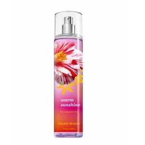 dearbody brand refreshing Fragrance Body Spray Deodorant