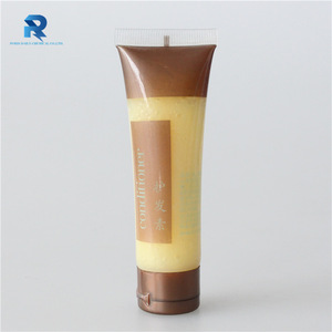 Disposable 30ml plastic tube packaging hotel hair conditioner