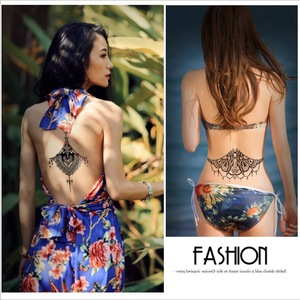 Fashionable Waterproof Unique Design Temporary Body Art Tattoo Sticker