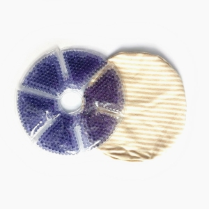 Hot& Cold disposable Breast Therapy Pack / nipple Cool Gel Pad / breast Cold beads cooling pad