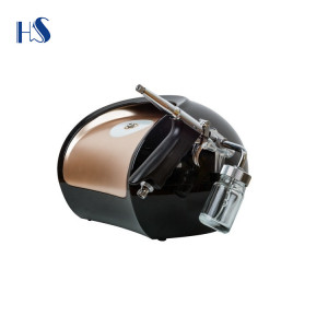HS-579K CE  Makeup Nail Art salon equipment with beauty  Cosmetic airbrush System