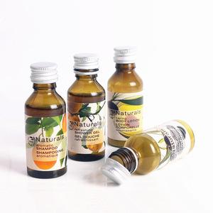 Natural aromatic hotel cosmetic amenity, hotel shampoo