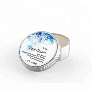 Natural Organic OEM Foot Care Cracked Heel Soothing Hydrating Whitening Foot Cream