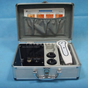 new portable home use boxy skin and hair analyzer