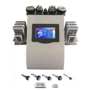 Newest 6 in 1 Lipo Laser Vacuum RF Cavitation Fat Dissolving Body Slimming Machine