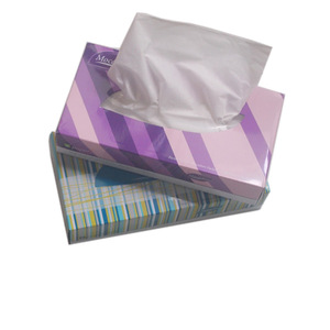 OEM custom printed box facial tissue