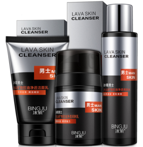 OEM hydrating and nourishing mens skin care set