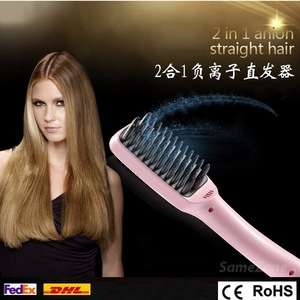 Professional Antomatic LCD Hair Straightener Comb Styling Machine Digital Perm Machine Electric Hair Straightening hot sell
