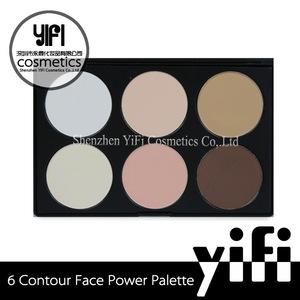 Wholesale! Neutral OEM accepatable makeup contour waterproof long-lasting 6 colors contour palette