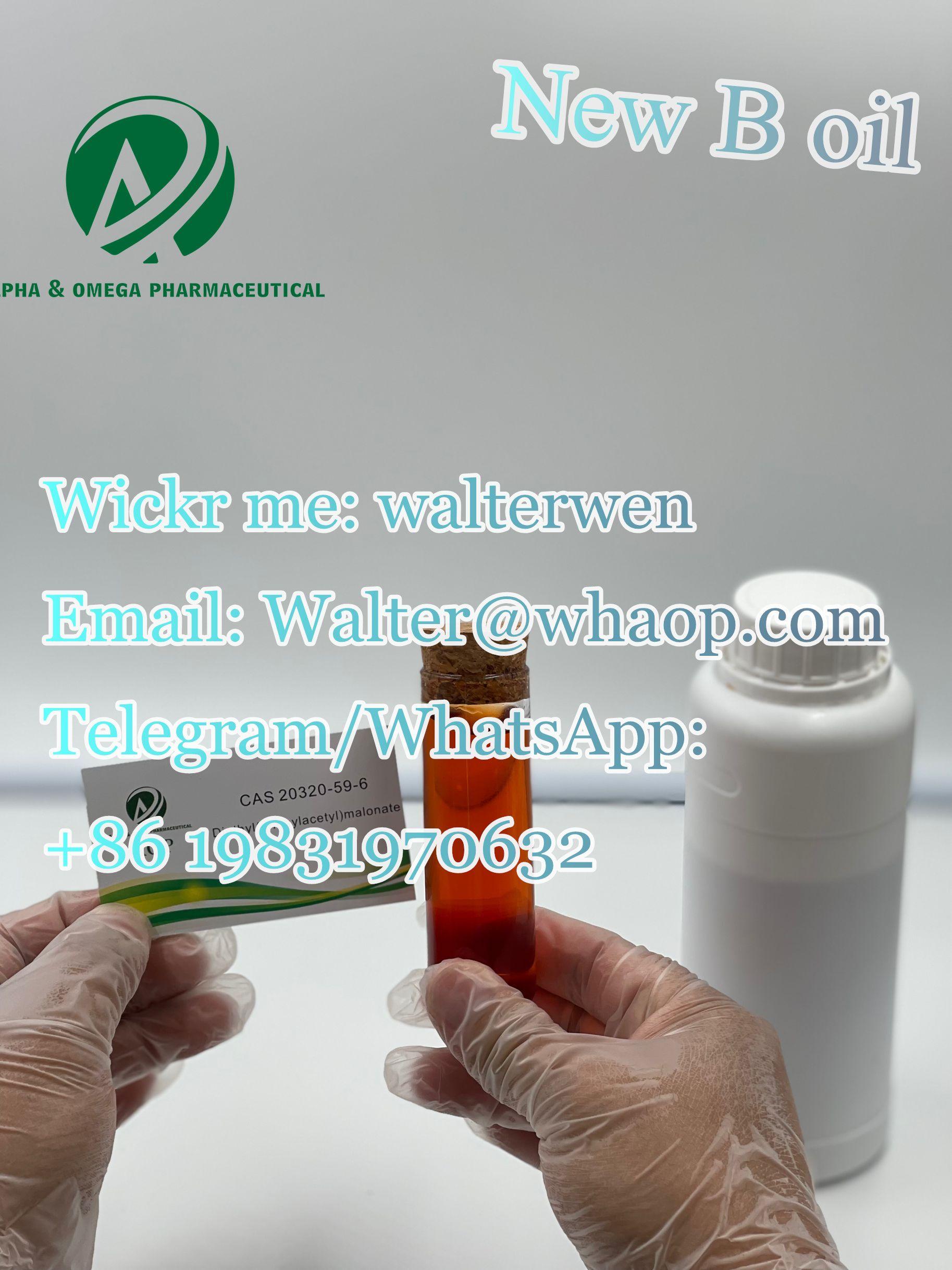 Buy 20320-59-6  Bmk oil  ProName: diethyl 2-(2-phenylacetyl)propanedioate wickr:walterwen