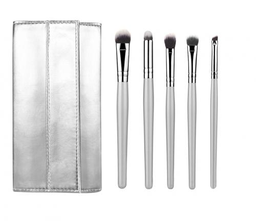 Makeup Brushes Kit Professional with Make up Purse Bag Pouch Portable 5pcs
