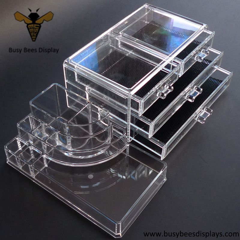 Beauty Acrylic Eyeshadow Organizer Box