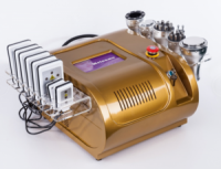 Ultrasonic RF Body Slimming System Laser Ultrasonic Cavitation Vacuum RF Slimming Beauty Salon Equipment