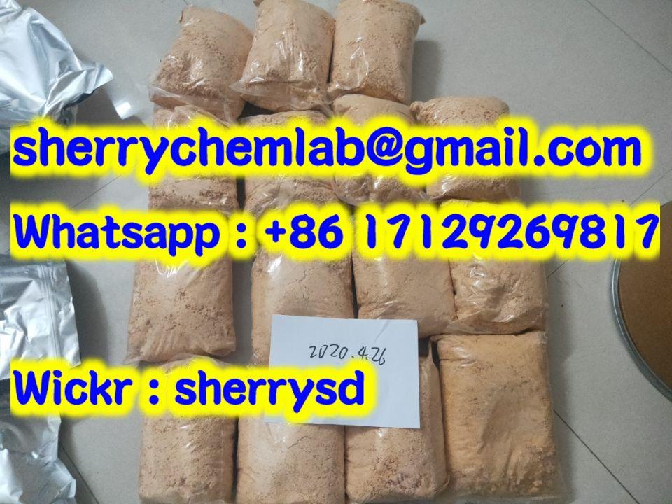 Sell New 4F-MDMB-2201 4F-ADB 4FADB 4FPV yellow safe factory strong(sherrychemlab@gmail.com)