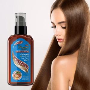 120ml Collagen Argan Oil Hair Care Serums Conditioning Repairing Nourishing Natural Hair Product Wholesale