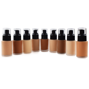 2018 private label makeup liquid foundation private label full coverage foundation