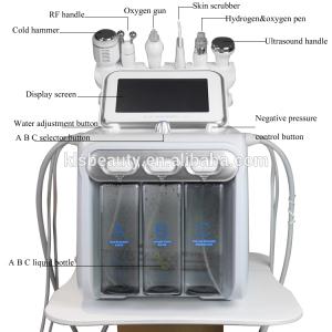 6 in 1 multifunction bubble gun machine Radio Frequency power spray gun beauty equipment