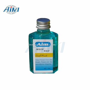 Antiseptic oral hygiene liquid herbal dental mouthwash