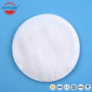 Cosmetic kits round simple natural soft makeup remover cotton pads