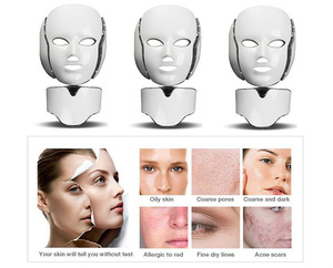 Distributors agents required pdt red led light mask for face whitening