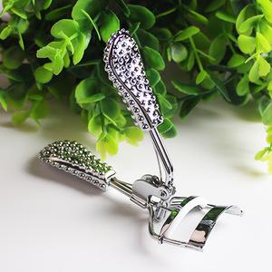 Gold diamond handle eyelash curler