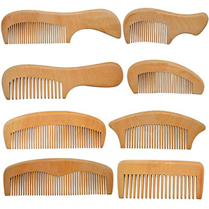 Hot design Competitive price wooden hair comb