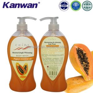 Kanwan Herbal Mild Liquid Moisturizing Papaya Body Wash Manufacturers