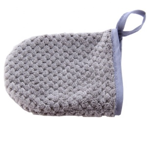 Soft Face Gloves Cleansing Gloves Soft Treatment Mitts Face Cleansing Gloves Makeup Remover Cloth Pad