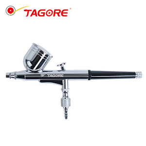 Tagore Professional 0.4mm Nozzle Single Action Gravity Feed Airbrush