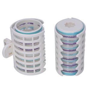 Wholesale hair salon equipment plastic mesh hair curlers rollers