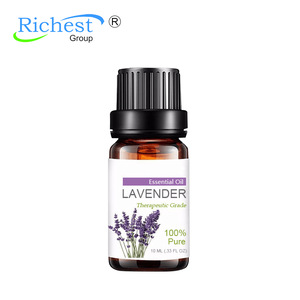 100% Pure and Natural Essential oil Lavender Oil