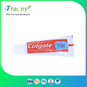 5gr 10gr 20gr airways fly mini hotel size hotel travel toothpaste disposable toothpaste factory