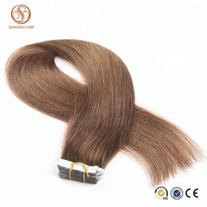 Best selling cheap hair 100% unprocessed virgin brazilian hair tape hair extensions