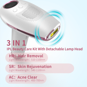 DEESS portable automatic ice ipl hair removal machine