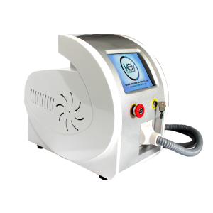 E Portable nd yag laser tattoo removal with 532nm carbon peel nd yag q switched laser skin whitening machine
