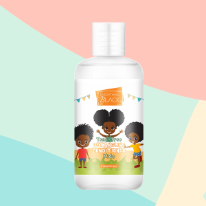 Everythingblack Sultfate Free Kids Organic Hair Products ,Moisturize And Nourish Curly Hair Care For Kids