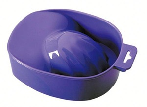 Factory Supply simple design five finger manicure bowl from manufacturer