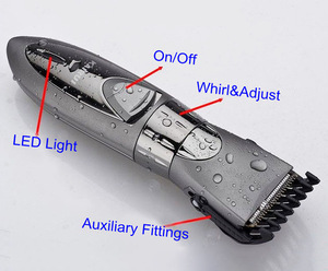 High Quality Electric Hair Clipper Rechargeable Use Beard Trimmer for Men