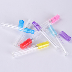 Hot sale 8ml empty glass pen shape spray perfume bottle