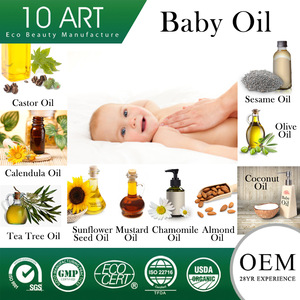 Organic Whitening Baby Skin Care Sunflower Seed Oil