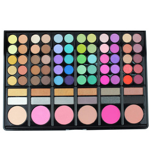 Professional Cosmetics Products Waterproof 78 Colors Makeup Eyeshadow Palette