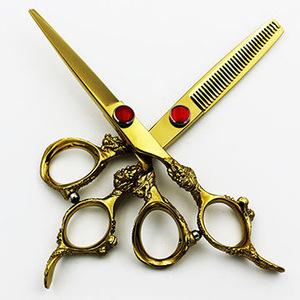 Professional Hair Cutting Hairdressing Barber Salon Scissor & Thinning Hair Scissor