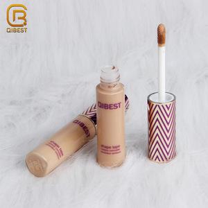 Qibest Cosmetic Liquid Creamy Foundation Concealer