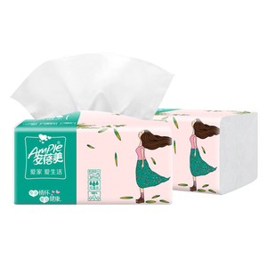Custom Printed Soft Pack Tissue Paper Facial Tissue Paper